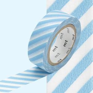 Taśma dekoracyjna washi Stripe Baby Blue