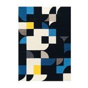 Ręcznie tkany dywan Spirit Blue, 170x240 cm