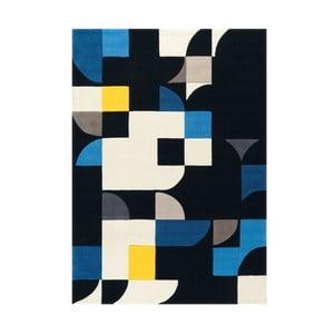 Ręcznie tkany dywan Spirit Blue, 140x200 cm