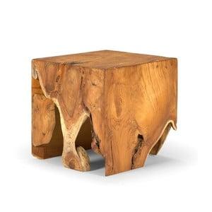 Stołek z drewna tekowego SOB Aro