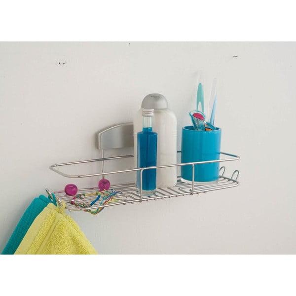 Półka łazienkowa bez konieczności wiercenia Gel, 35x12 cm