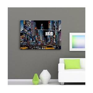 """Obraz na płótnie """"Time Square II"""", 50x70 cm"""