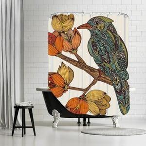 Zasłona prysznicowa Brave Bird, 180x180 cm
