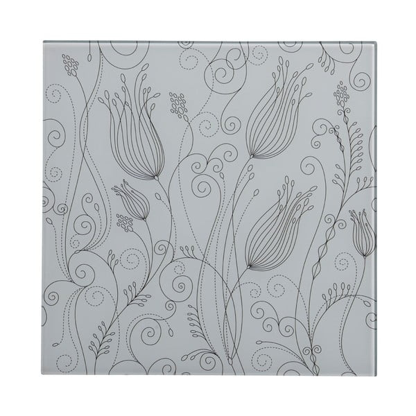Szklany obraz White Tulip, 30x30 cm