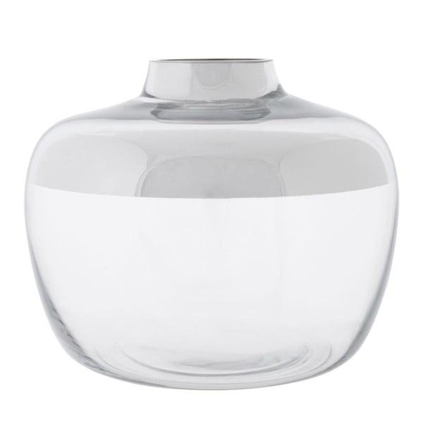 Wazon Round Silver, 25x25x21 cm