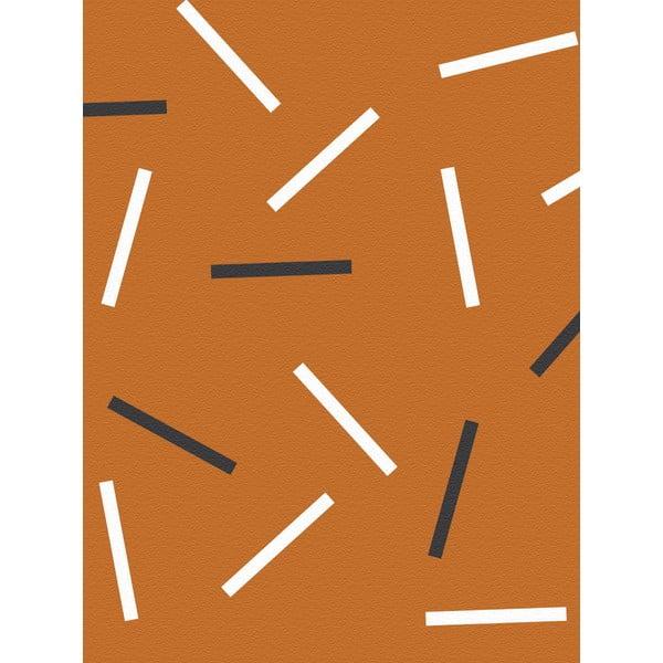 Fizelinowa tapeta Matches Cinnamon, 0,53x10,05 m