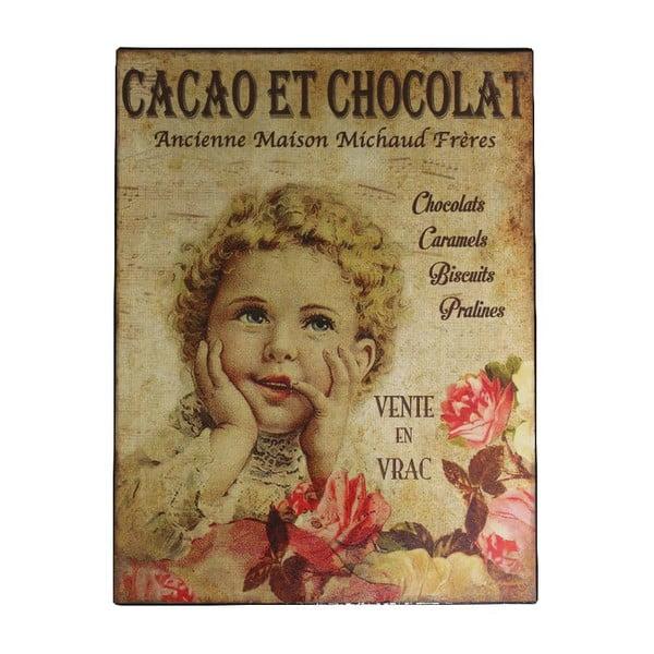 Dekoracja ścienna Antic Line Cacao Chocolat