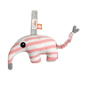 Różowo-biała zabawka z pozytywką Done by Deer Antee