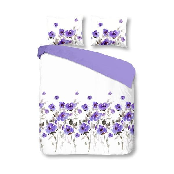 Pościel Flowerdream Purple, 140x200 cm