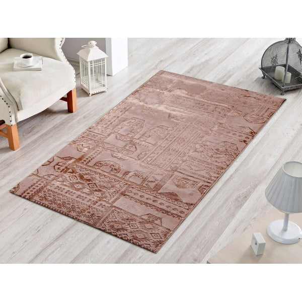 Dywan Patchwork Taupe, 80x120 cm