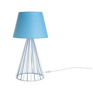 Lampa stołowa Wiry Blue/White/Blue