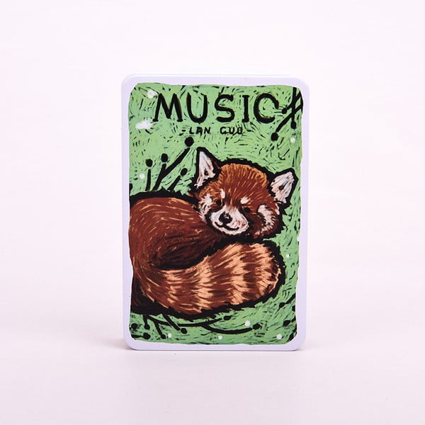 Notes Music, pandka ruda (panda czerwona)