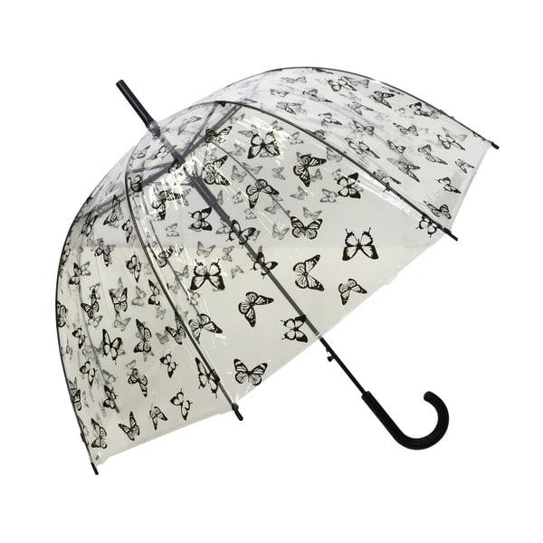 Przezroczysty parasol Susino Papillons