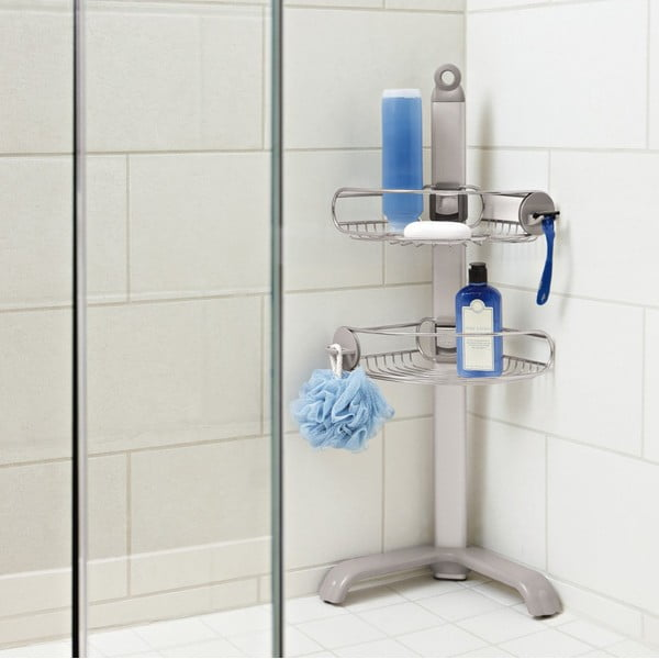 Ruchoma narożna półka pod prysznic Shower Caddy