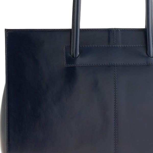 Skórzana torebka Ore Diece Olbia, niebieska