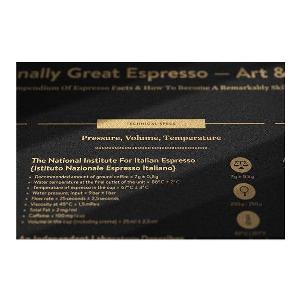 Plakat Espresso Gold/Black, 50x70 cm