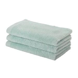 Miętowy ręcznik Aquanova London, 30x50 cm