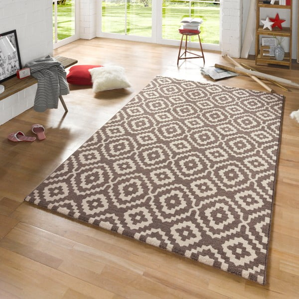 Brązowy dywan Mint Rugs Diamond Ornamental, 160x230 cm