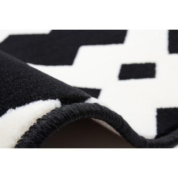 Czarny dywan Stella 100, 120x170 cm