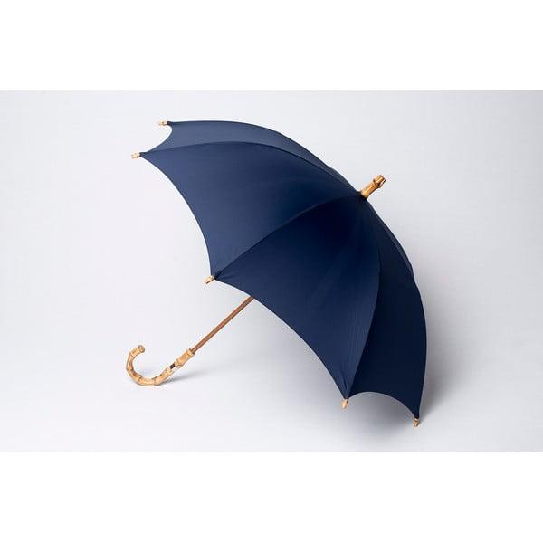 Bambusowy parasol Gents, niebieski