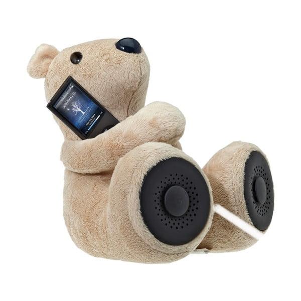 Niedźwiadek z głośnikiem Hi-George, beżowy
