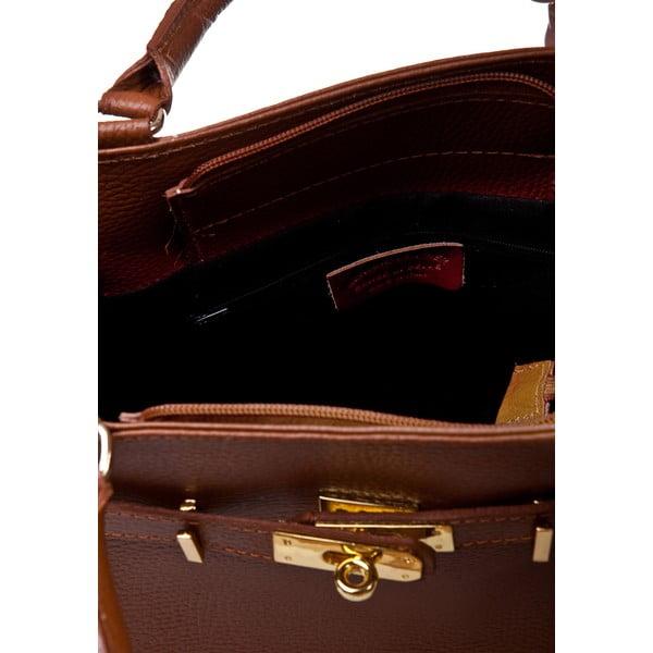Koniakowa torebka Massimo Castelli Petronella Cognac