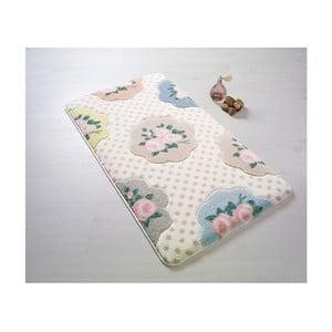Wzorzysty dywanik łazienkowy Confetti Bathmats Bunk, 57x100 cm