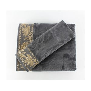 Zestaw 2 ręczników Asu Grey