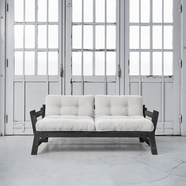 Sofa rozkładana Karup Step Black/Vision