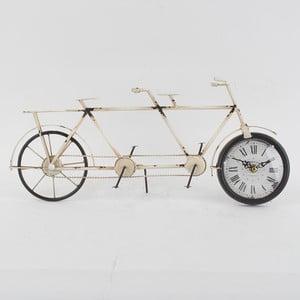 Metalowy zegar Bike