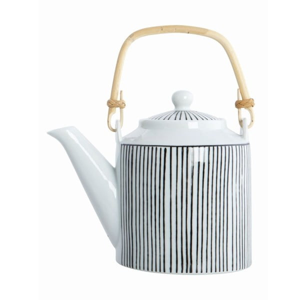 Dzbanek do herbaty House Doctor Pen Stripe