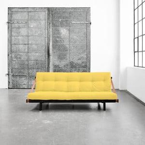 Wielofunkcyjna sofa Karup Jump Black/Amarillo
