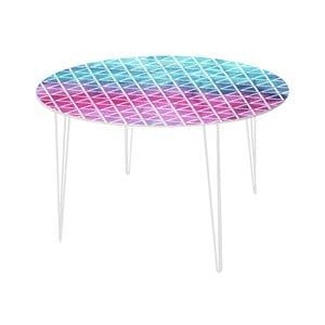 Stół do jadalni Pink and Blue, 120 cm