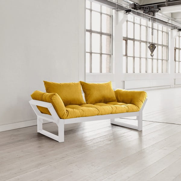 Sofa Karup Edge White/Amarillo