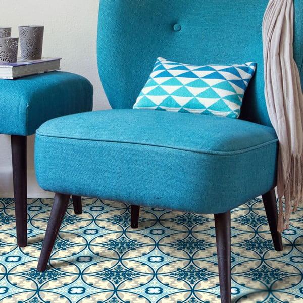 Wytrzymały dywan winylowy Blue Sand, 120x170 cm