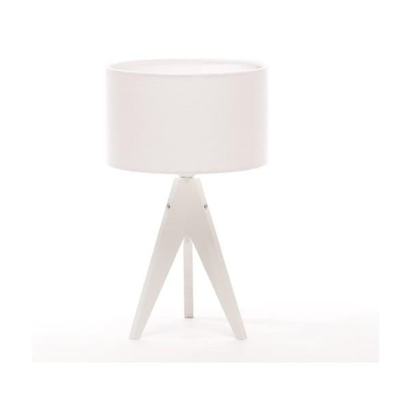 Lampa stołowa Artist Cylinder White/White