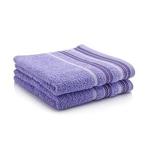 Komplet dwóch ręczników Hugo 50x90 cm, lavender
