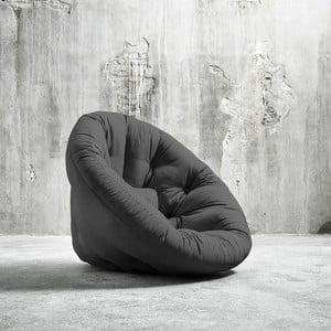 Fotel rozkładany Karup Nido Dark Grey