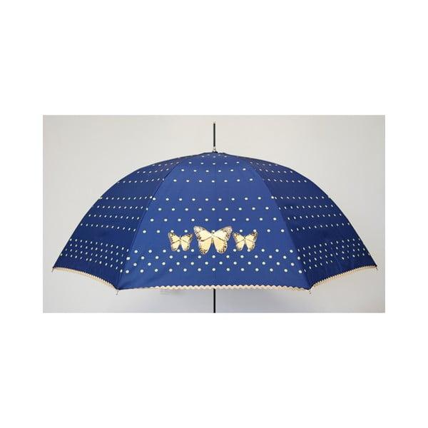 Parasol  Alvarez Dots Blue Butterlfy