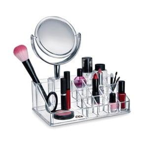 Organizer na kosmetyki z lusterkiem Domopak Make Up