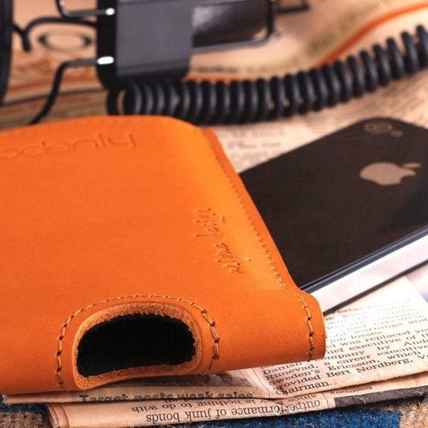Skórzane etui na iPhone 4/4s Cognac