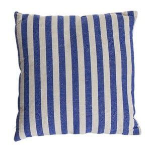 Poduszka Cosas de Casa Stripes, 45x45 cm, niebieska