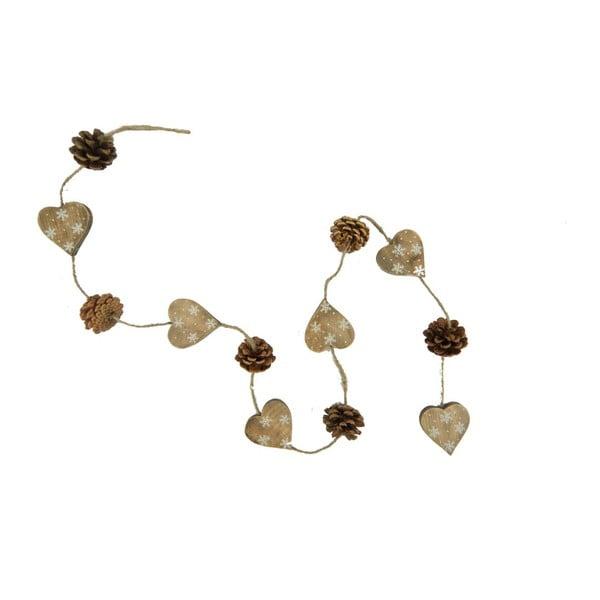Girlanda świetlna Nature Hearts and Pinecones