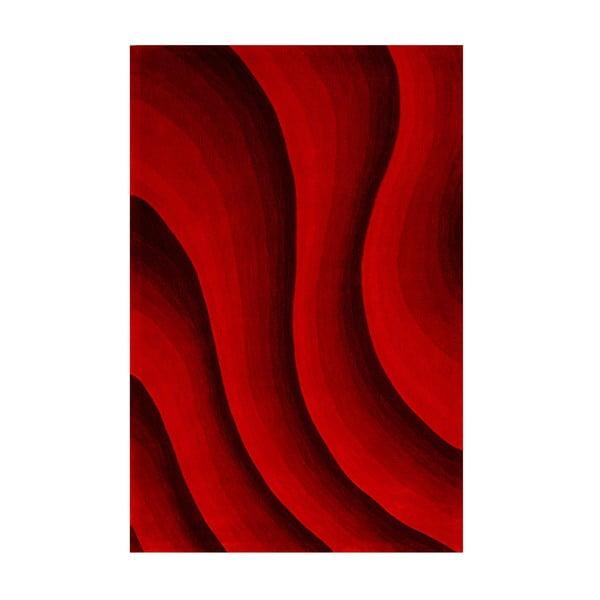 Dywan Casablanca 140x200 cm, odcienie czerwieni