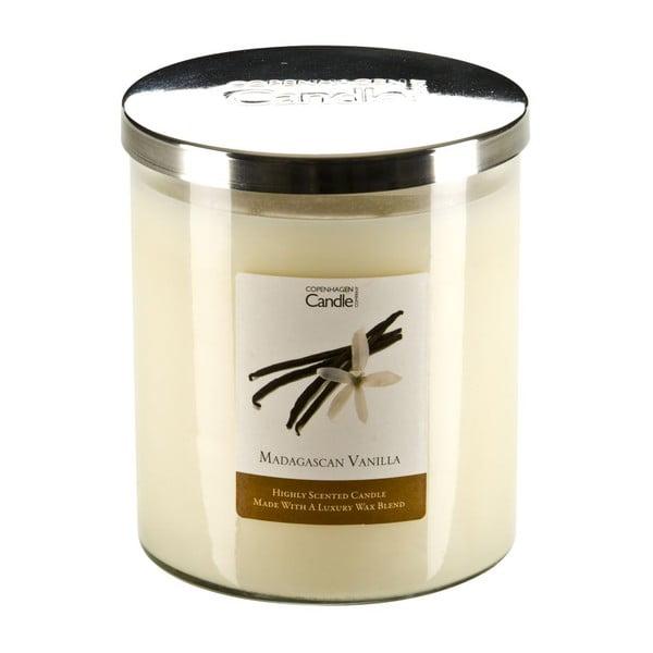 Świeczka zapachowa o zapachu wanilii Copenhagen Candles Madagascan, czas palenia 70 godz.