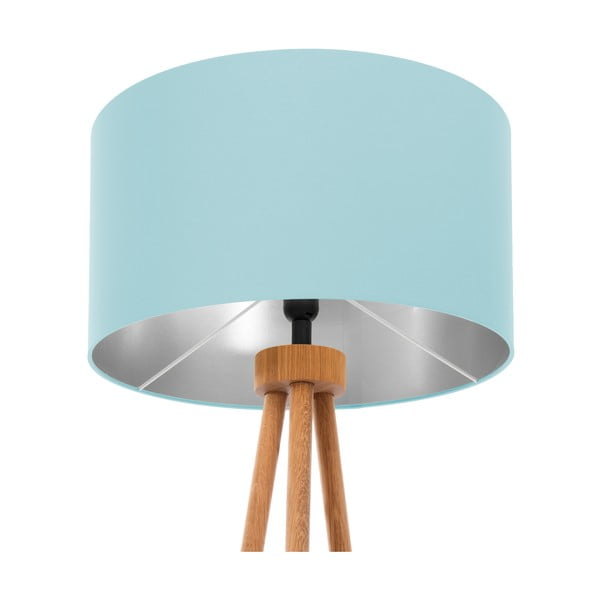 Lampa stojąca Light Blue Silver
