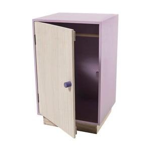 Fioletowe szafa dla lalek z drewna Sebra Dolls Closet