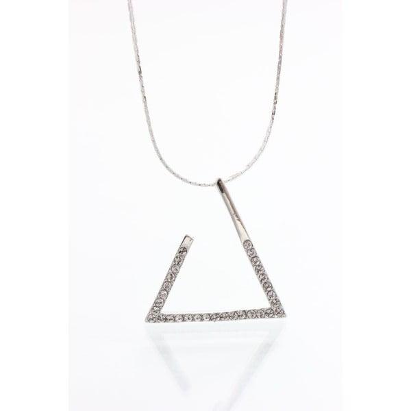 Naszyjnik z kryształami Swarovskiego Yasmine Triangle