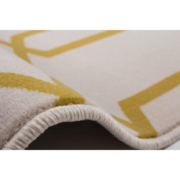 Żółty dywan Kayoom Stella 400, 200x290 cm