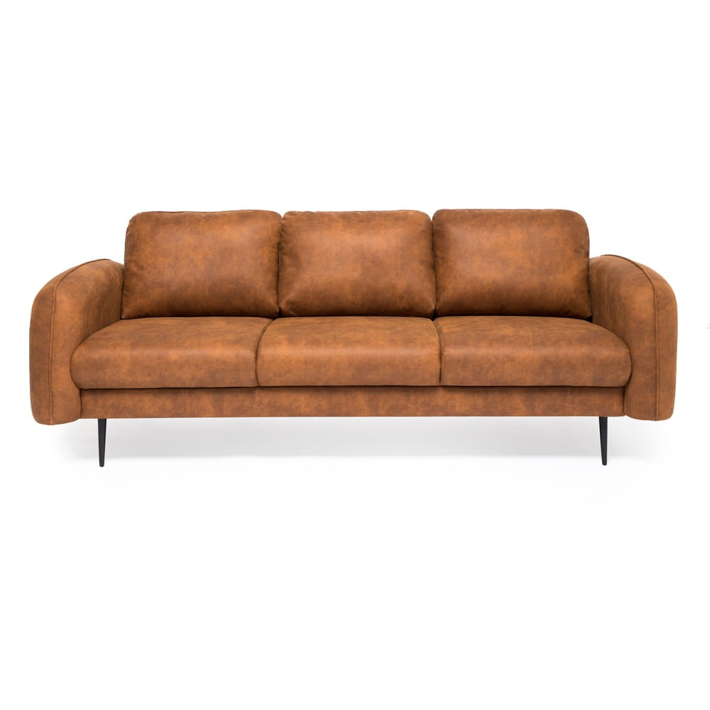 sofa 3-osobowa ze skóry ekologicznej Vivonita Skolm